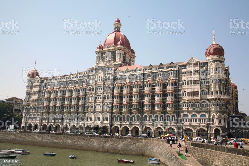 Taj Mahal Hotel in Mumbai royalty-free stock photo