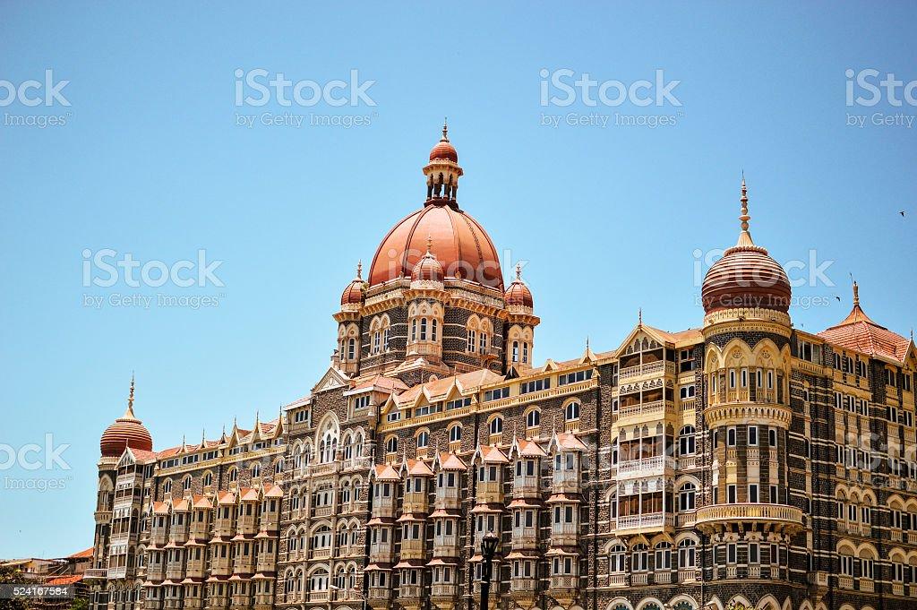 Taj Mahal Hotel stock photo