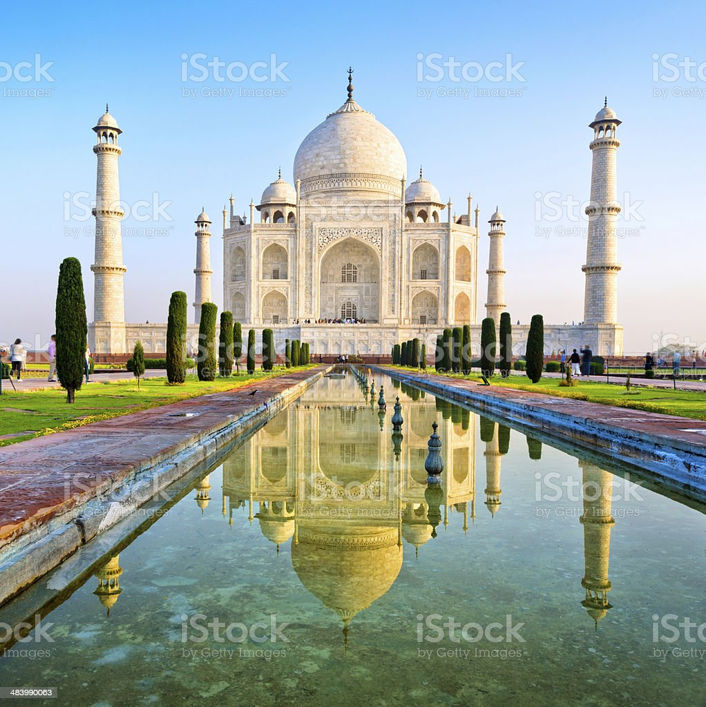 Taj Mahal, India stock photo