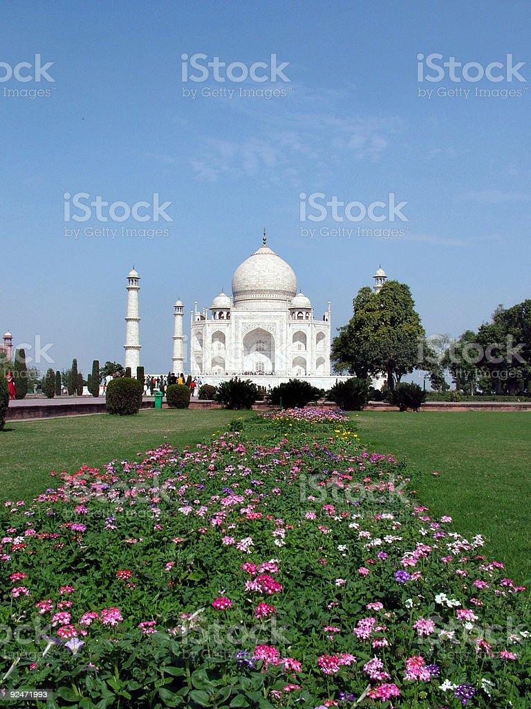 Taj Mahal, India royalty-free stock photo