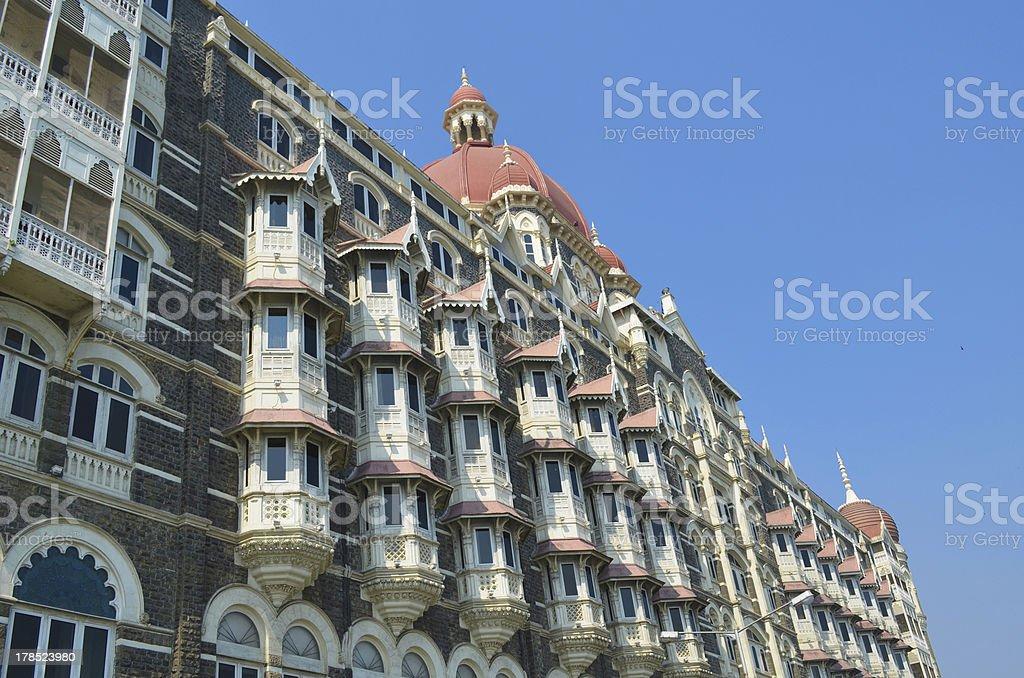 Taj Mahal Palace hotel in Mumbai India royalty-free stock photo