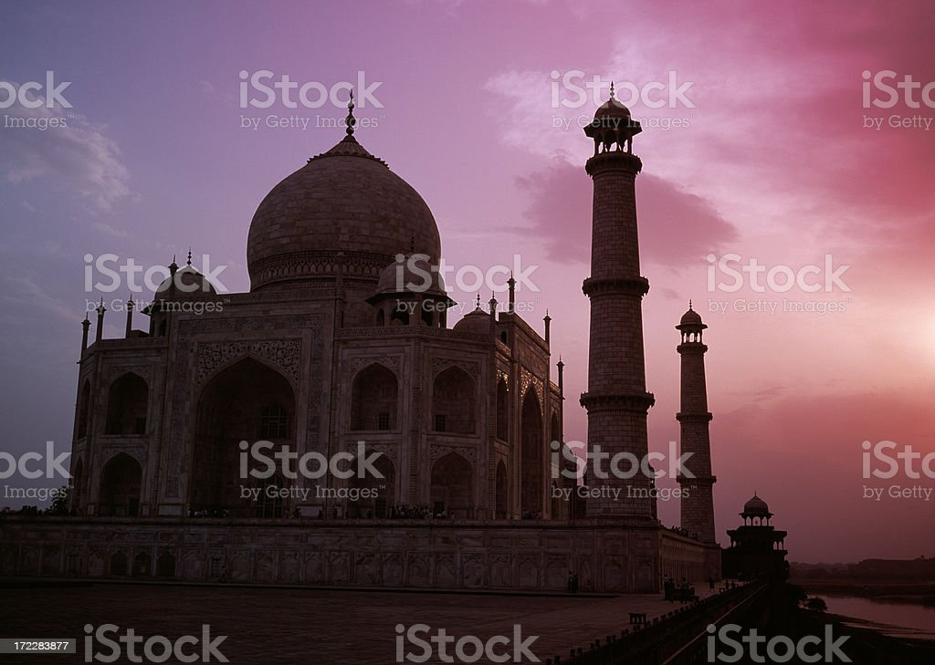Taj Mahal royalty-free stock photo