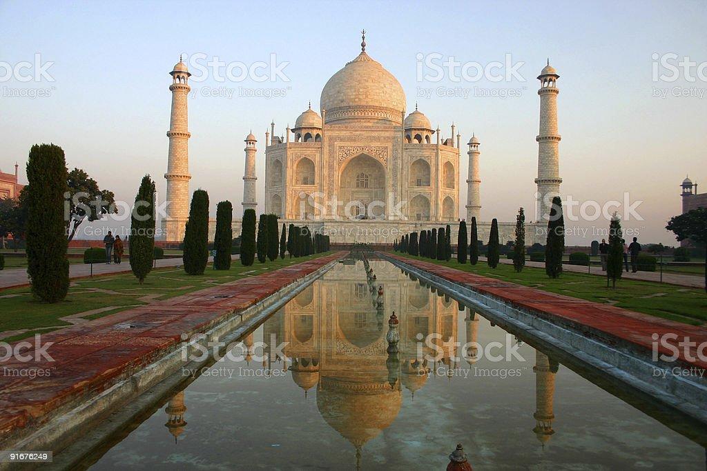 Taj Mahal stock photo