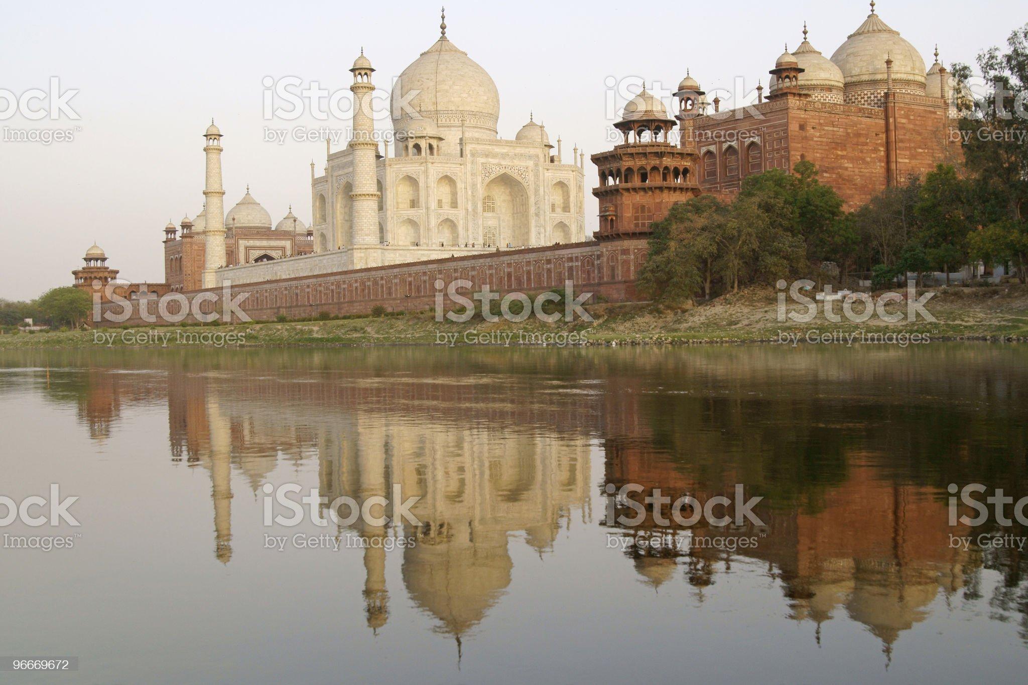Taj Mahal royalty-free stock photo