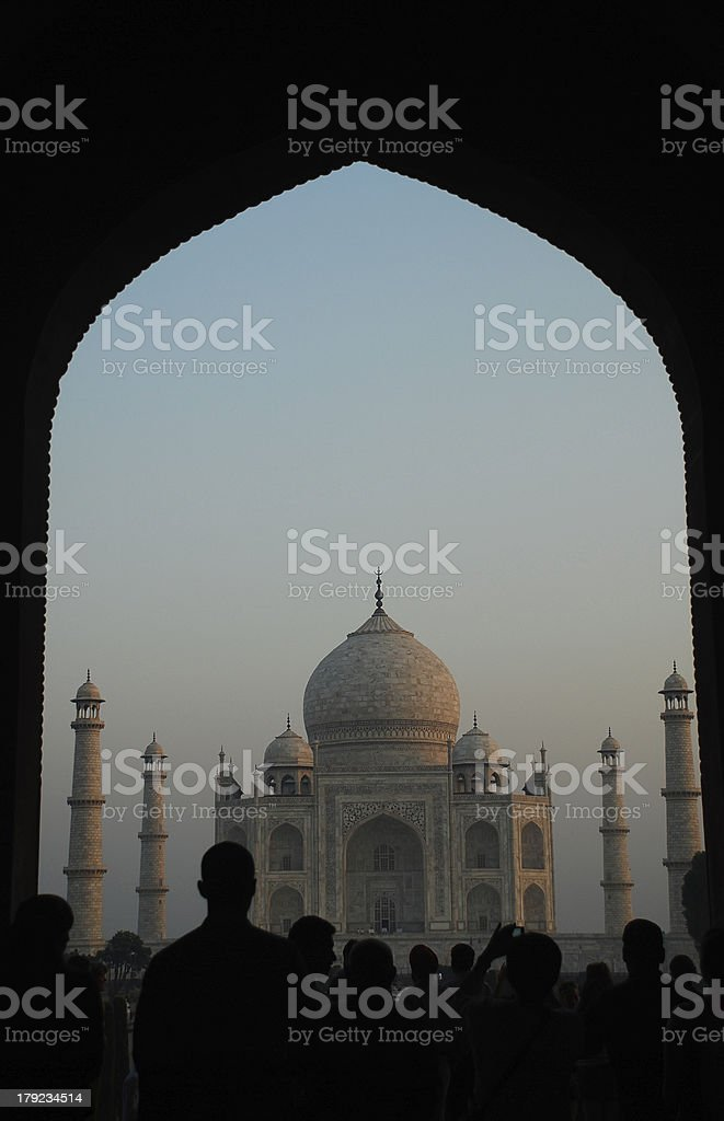 Taj Mahal,Agra,India royalty-free stock photo