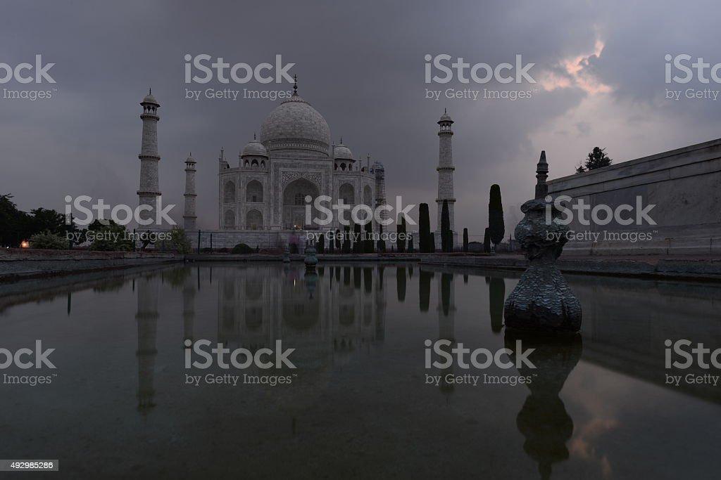 Taj-Mahal stock photo