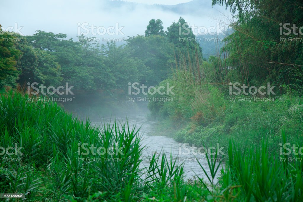 Takano River stock photo