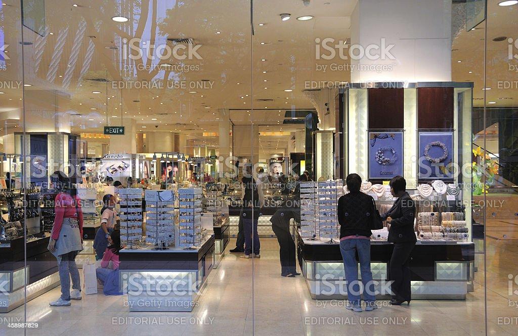 Takashimaya Store, Singapore royalty-free stock photo