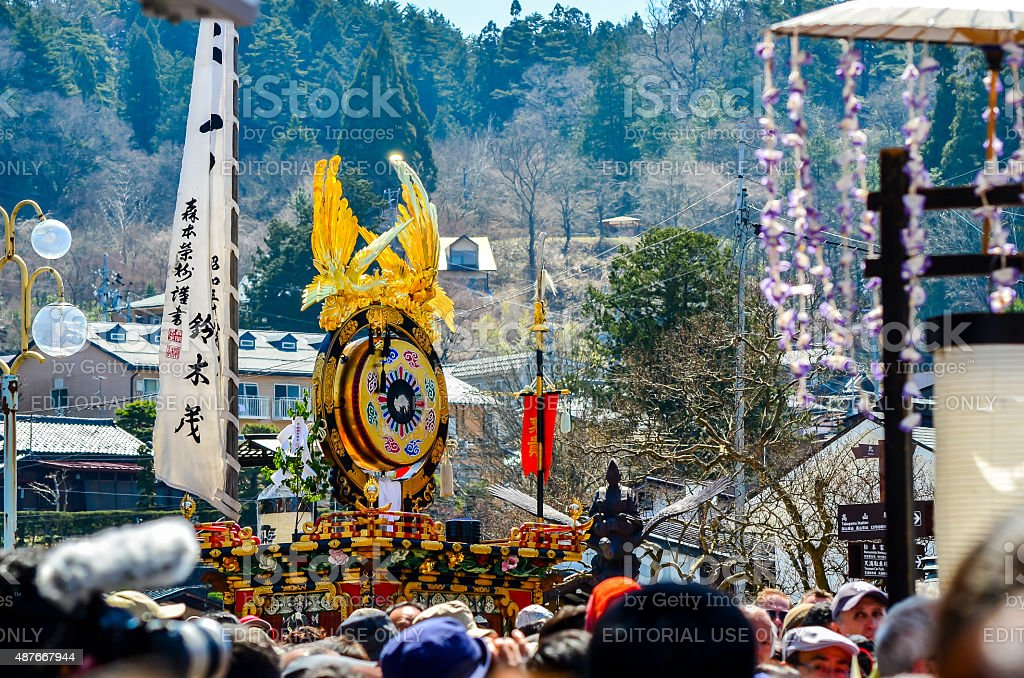Takayama Festival - Japan royalty-free stock photo