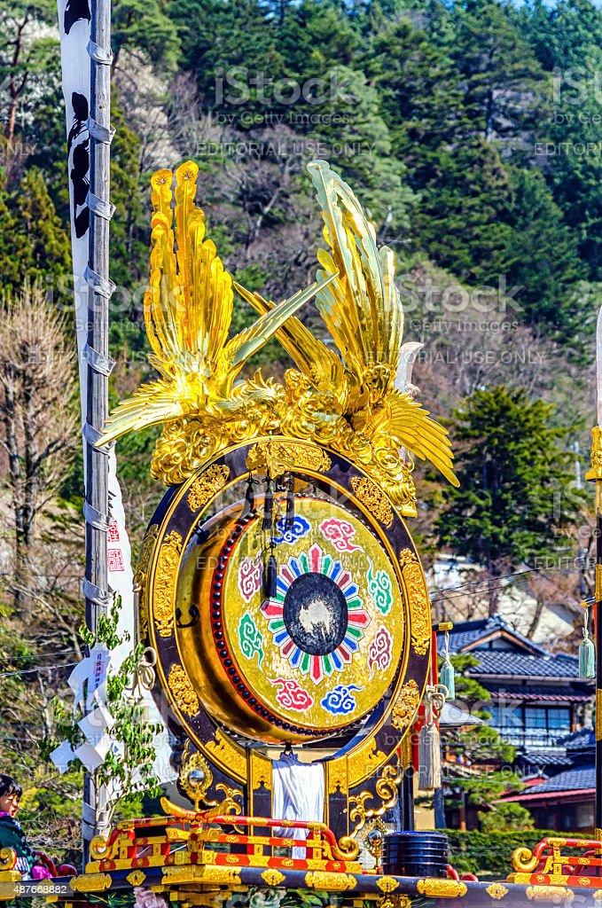 Takayama Festival - Japan royalty-free stock photo