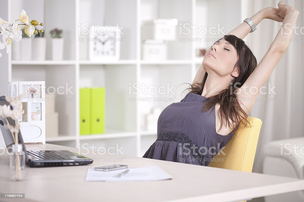 Take a break. stock photo