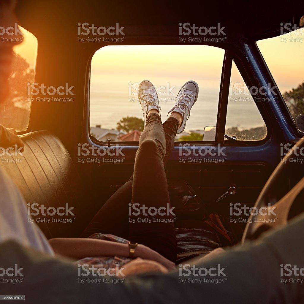 Take a break, you deserve it stock photo