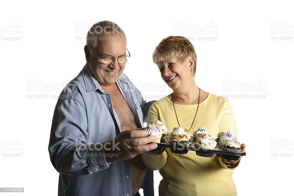 Take a cupcake. royalty-free stock photo