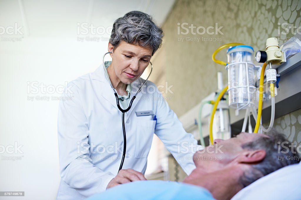 Take a deep breath for me stock photo