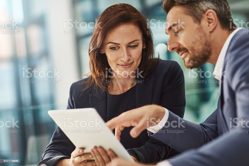 Take a look at these figures stock photo