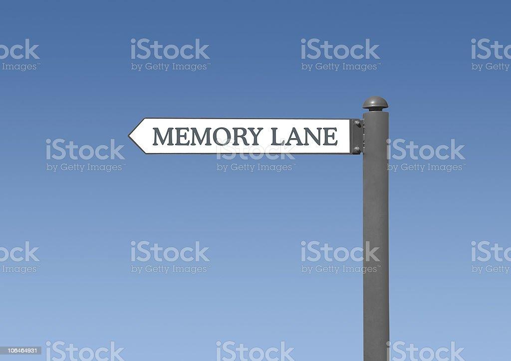 Take a Trip Down Memory Lane stock photo