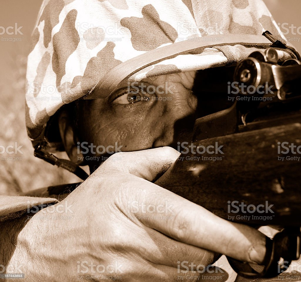 Take Aim. royalty-free stock photo
