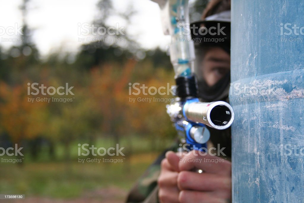Take Aim royalty-free stock photo