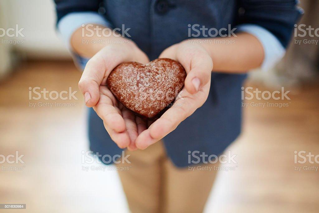 Take care of love! stock photo