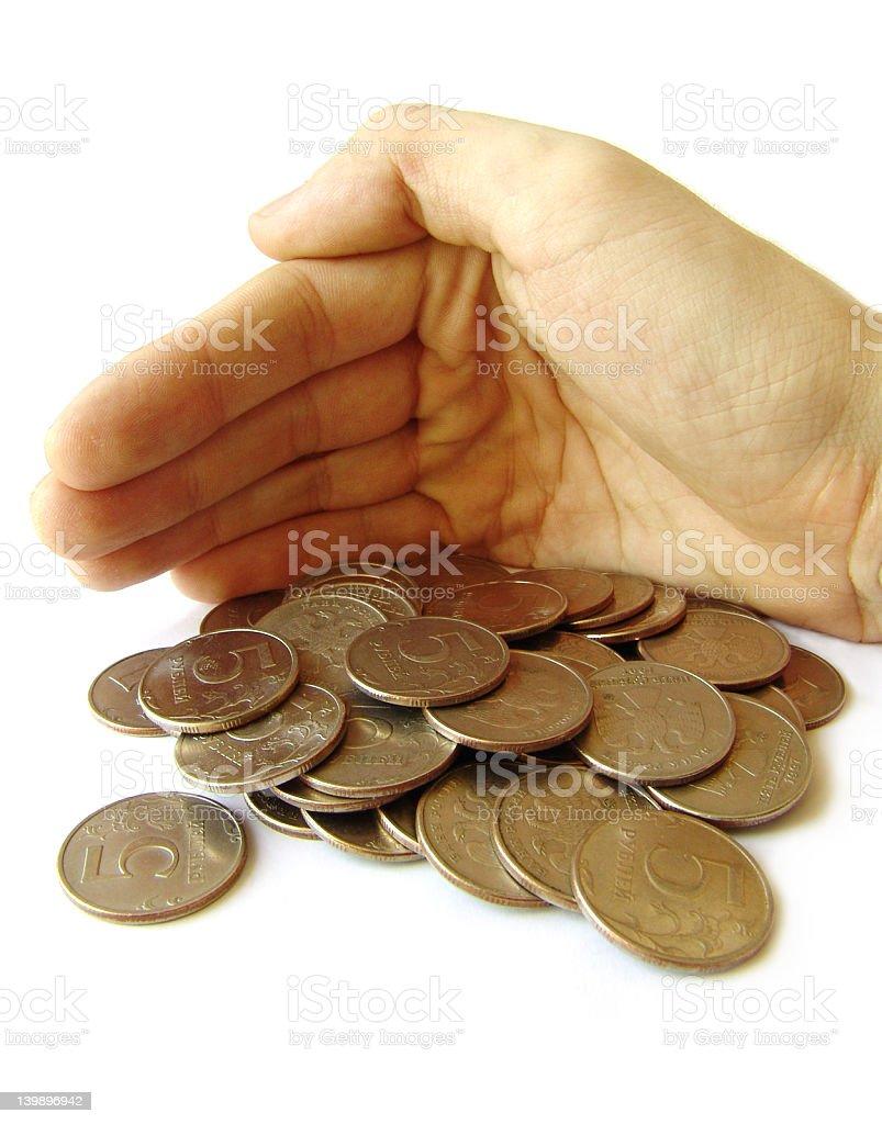 Take care of money stock photo