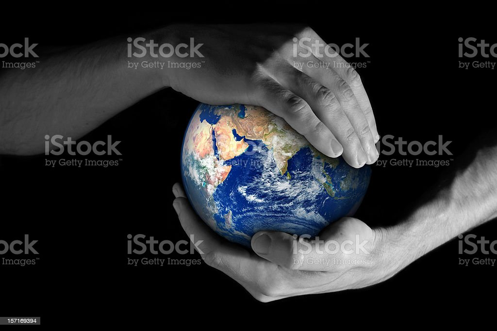 Take care of our planet! royalty-free stock photo