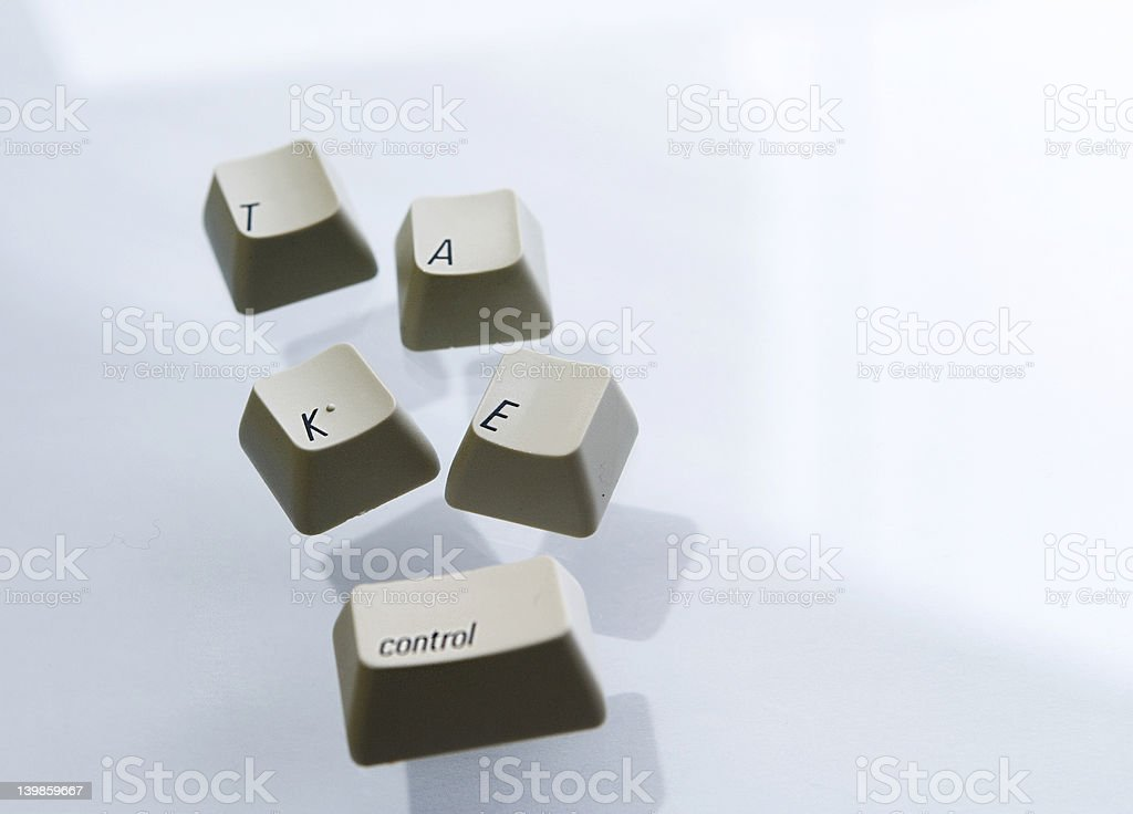 Take Control royalty-free stock photo