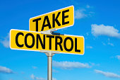 Take Control Street Intersection Sign