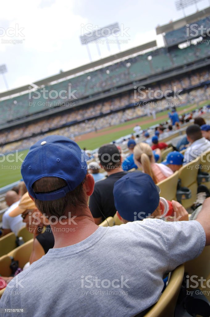 Take Me Out to the Ball Game royalty-free stock photo