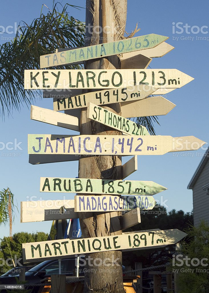 Take Me To The Islands royalty-free stock photo