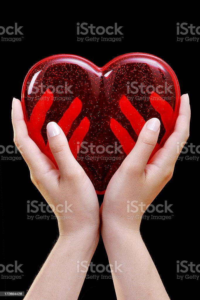 Take my heart royalty-free stock photo