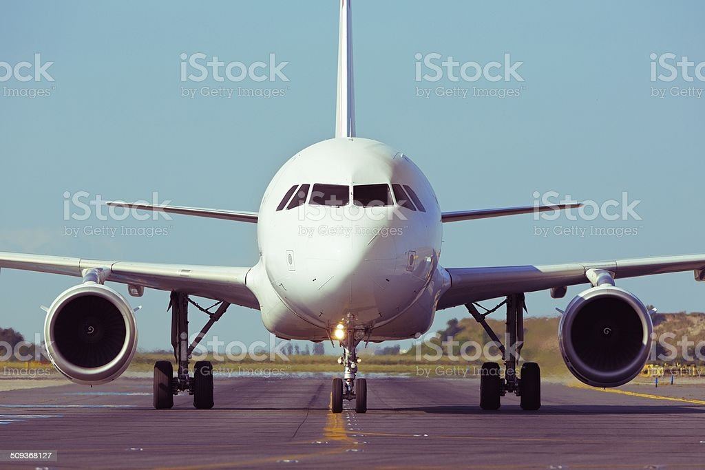 Take off stock photo