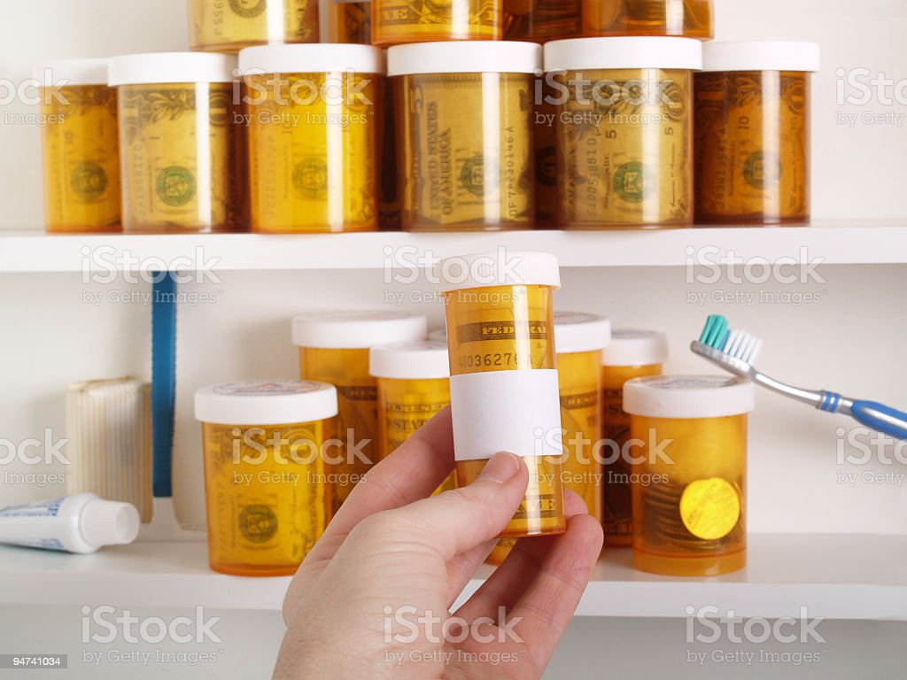 Take Only as Indicated stock photo