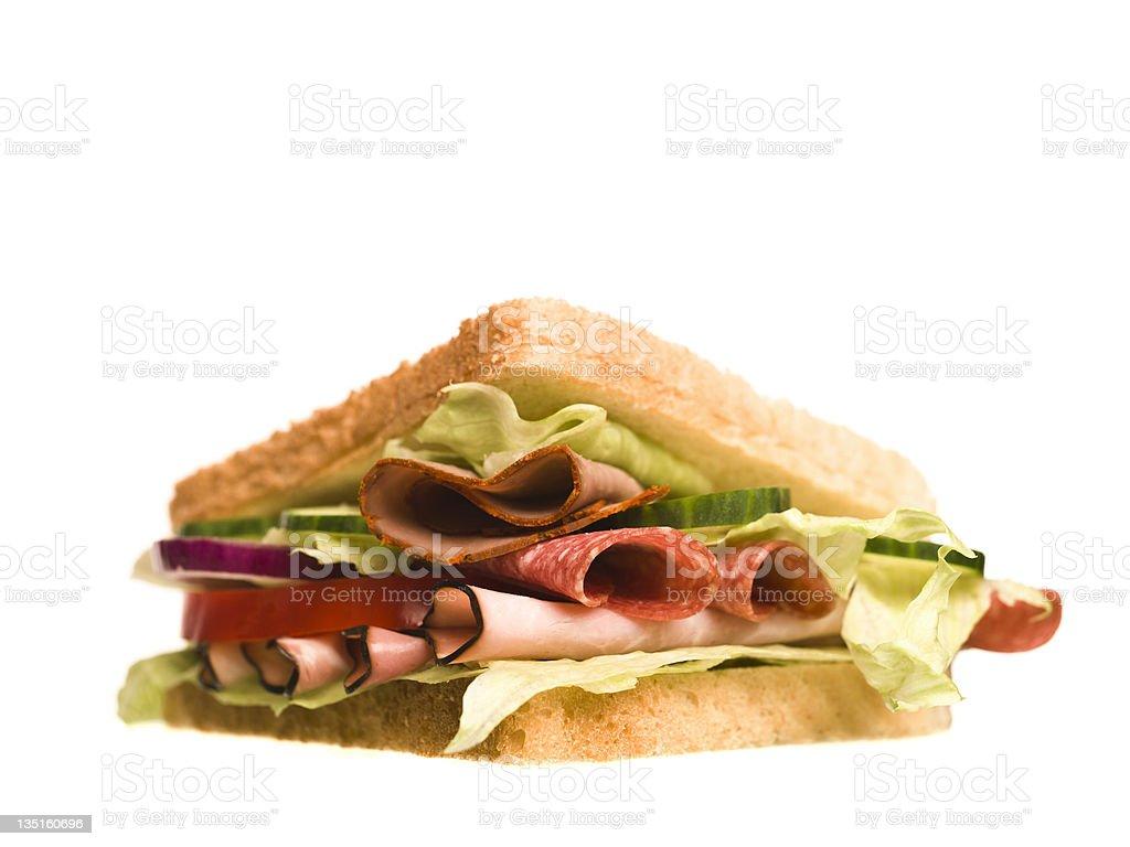 Take out sandwich royalty-free stock photo
