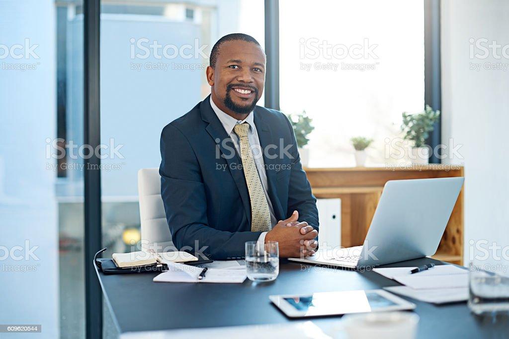 I take pride in my work stock photo