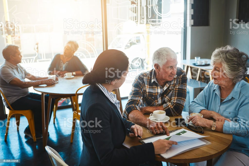 Take steps to make sure your needs will be met stock photo