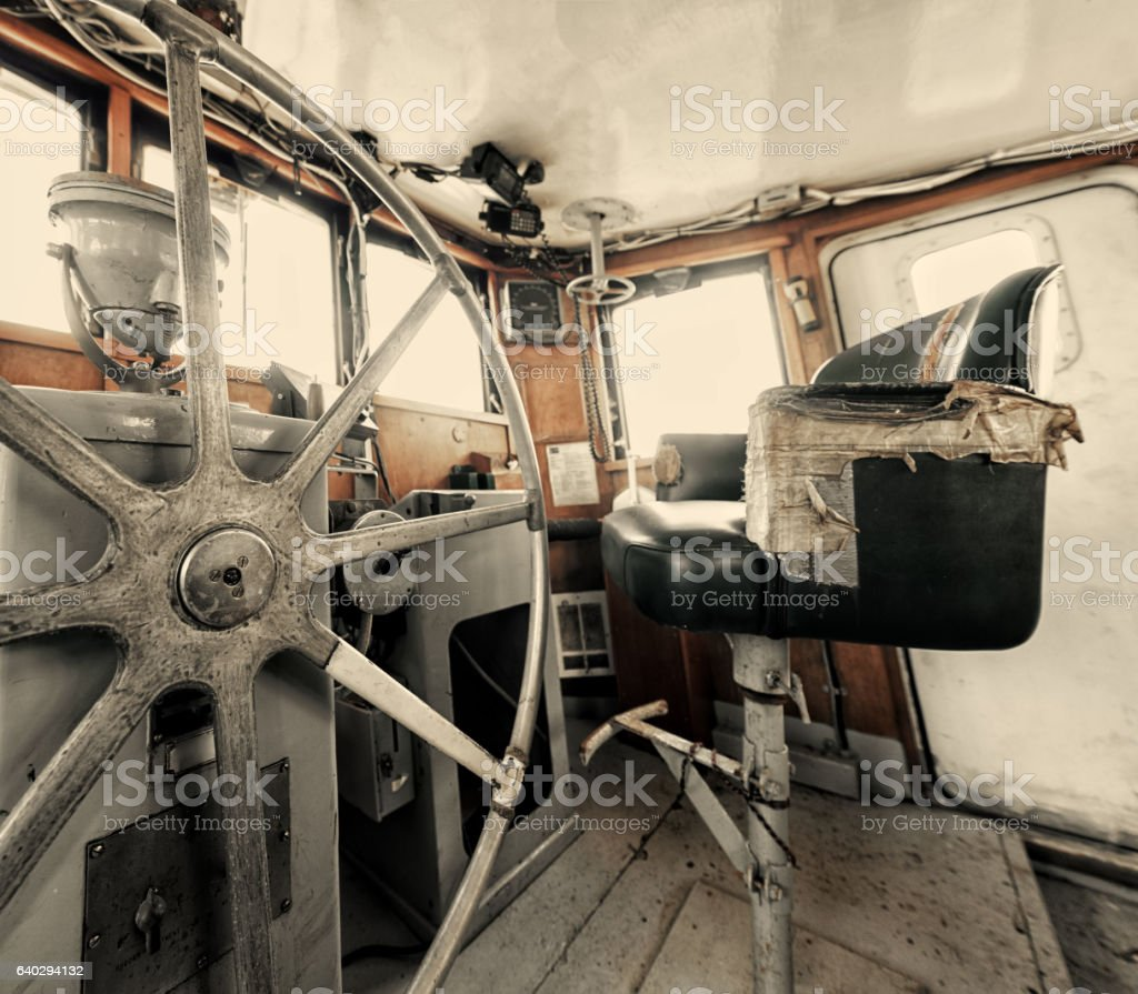 Take The Helm stock photo