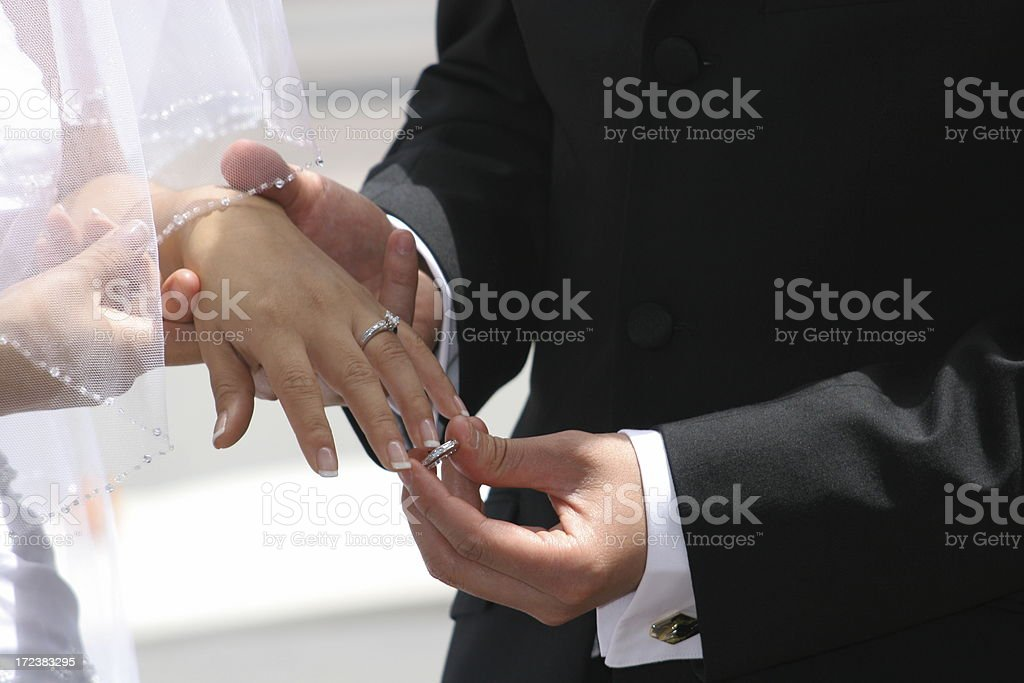 Take the ring and be my wife stock photo