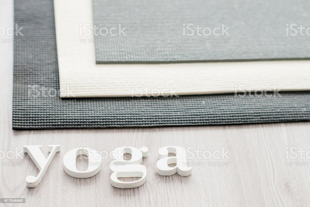 Take Time for Yoga stock photo
