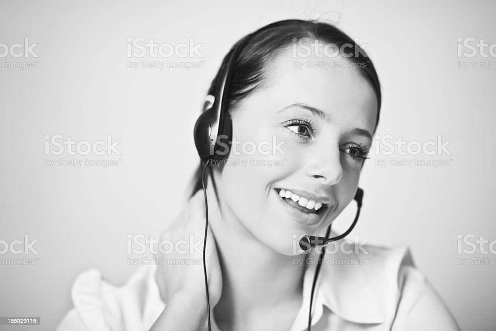 take your call royalty-free stock photo