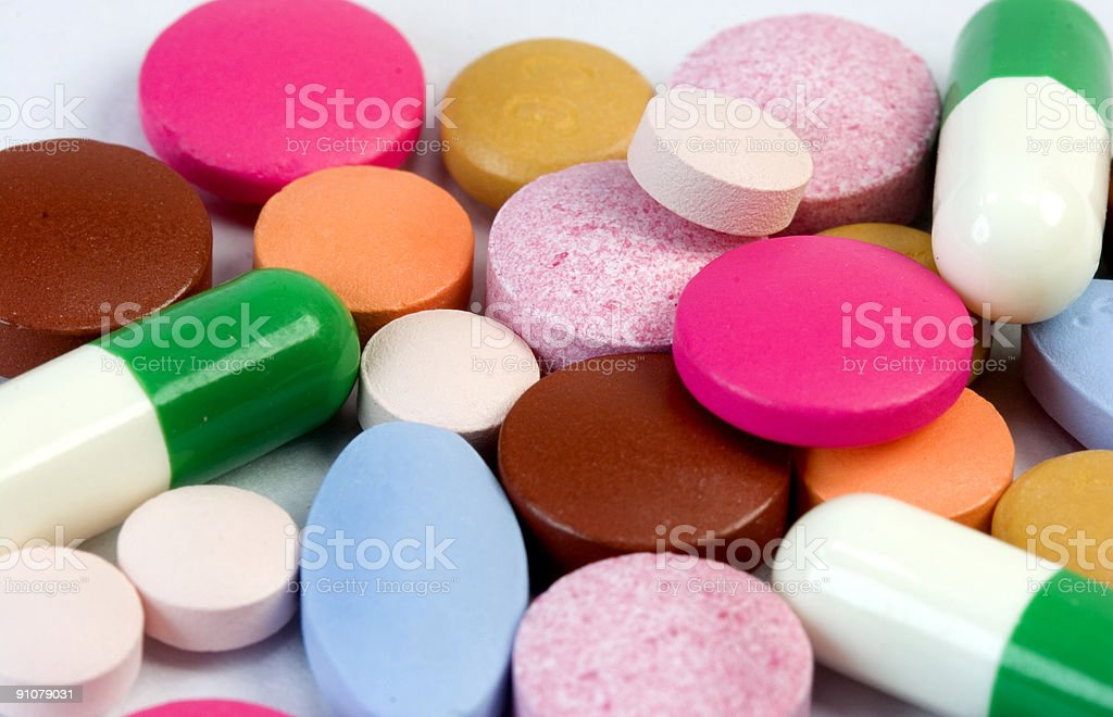Take Your Tablets stock photo