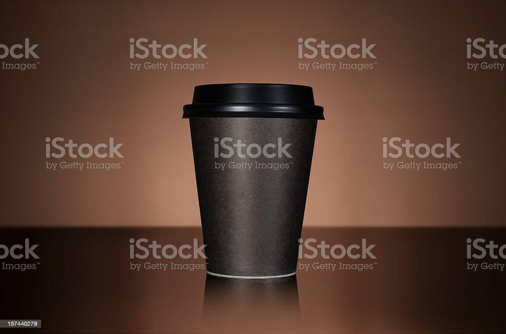 Takeaway coffee stock photo