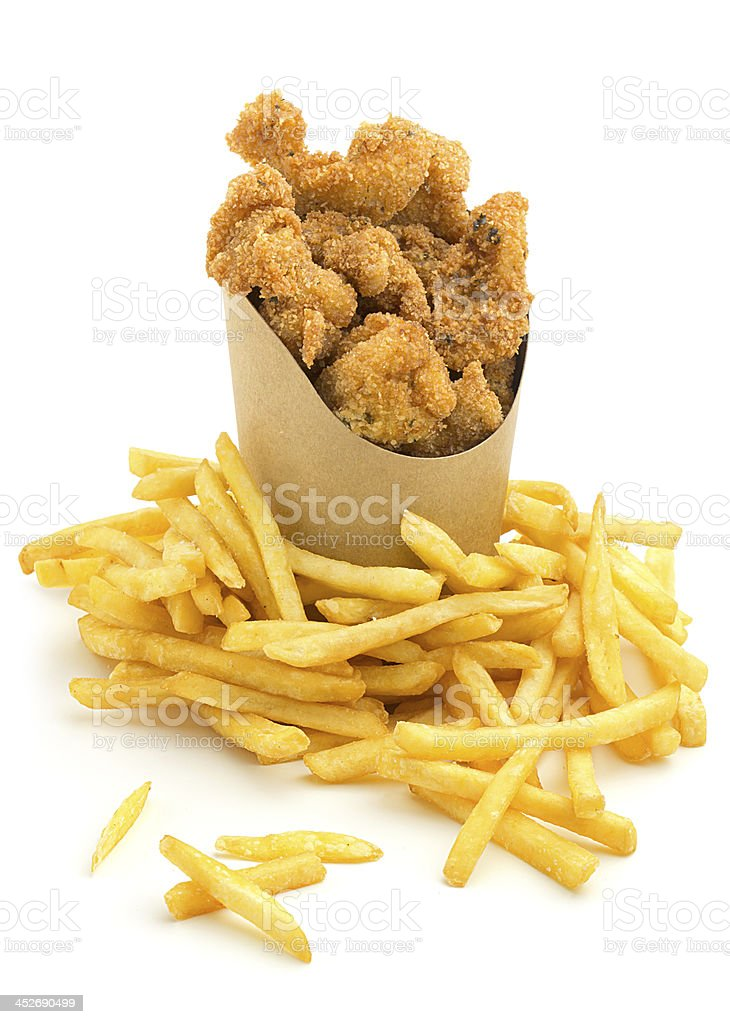 take-out food stock photo