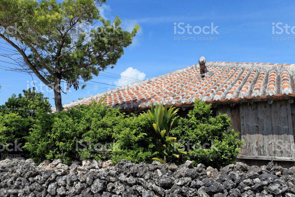 Taketomi island stock photo