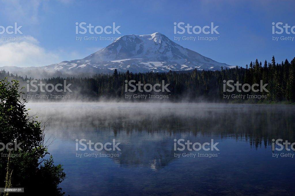 Takhlakh Lake stock photo