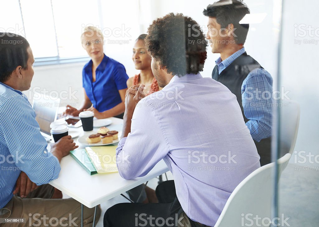 Takig some time out royalty-free stock photo