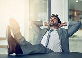 Taking a break from business