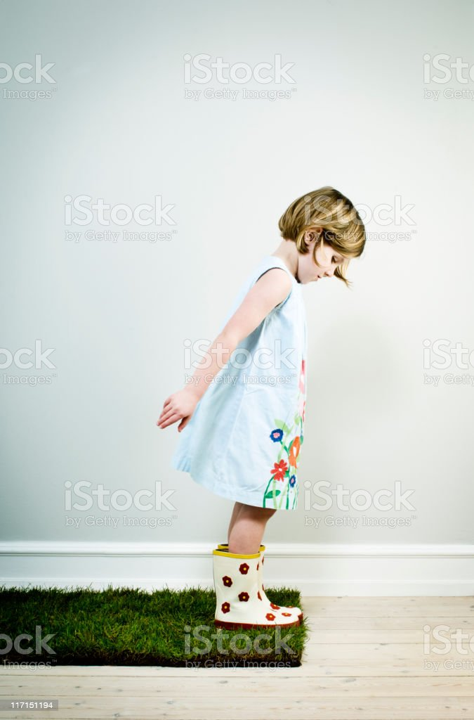 Taking A Chance stock photo