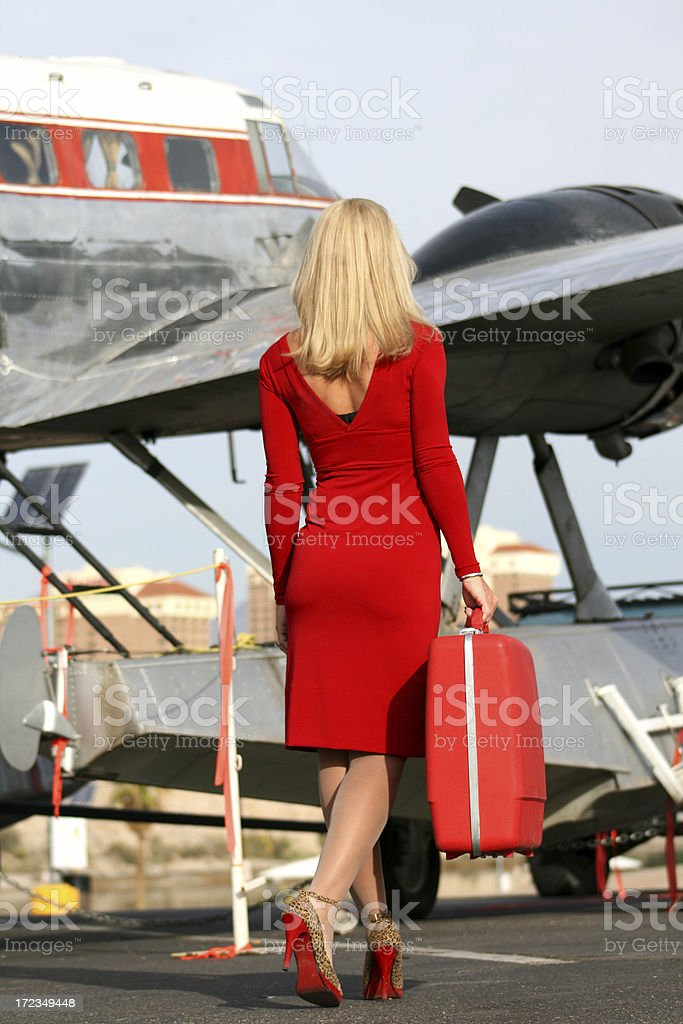 Taking a Little Trip royalty-free stock photo