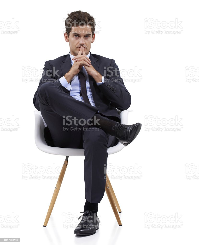 Taking a pensive moment royalty-free stock photo
