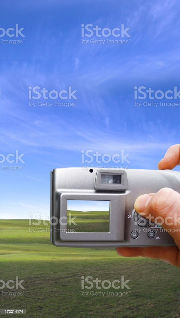 taking a photo royalty-free stock photo